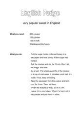 English Fudge