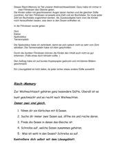 Riech-Memo-Spiel Klasse 2