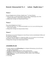 Duplik Jonas 7  Aufsatzvorschläge