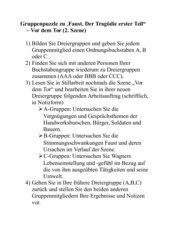 Gruppenpuzzle Faust I
