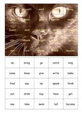 Puzzle zu irregular verbs