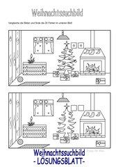 Weihnachtssuchbild