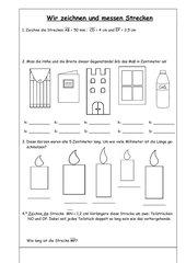 4teachers zeichnen und messen von strecken. Black Bedroom Furniture Sets. Home Design Ideas