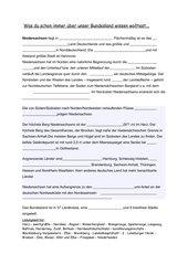 Lückentext Niedersachsen