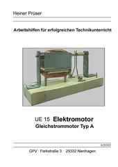 Elektromotor  (Gleichstrom)