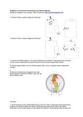 Aufgaben zur technischen Anwendung von Elektromagneten