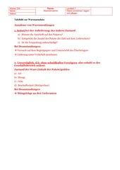 Annahme von Warenlieferungen (Tafelbild) Lernfeld 7 KE