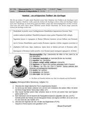 Klassenarbeit Hannibal punische Kriege