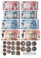 Spielgeld Euro für den Mathematikunterricht