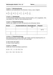 Wiederholungsaufgaben Kl8 Brennpunkt Hauptschule #3