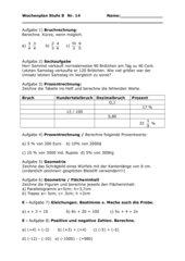 Wiederholungsaufgaben Kl8 Brennpunkt Hauptschule #1
