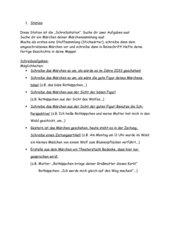 Stationsarbeit Märchen