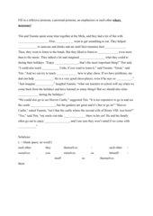 Reflexive pronoun, personal pronoun, each other or emphasizer?