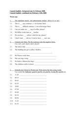 Sprachkurs Englisch KVHS Level A1-2 - Arbeitsblatt 01