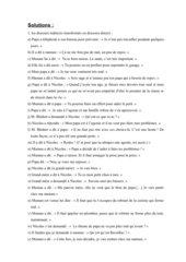 Petit Nicolas indirekte Rede Lösung
