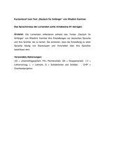 DAF Kurzentwurf zum Text