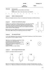 Klausur zur Elektrostatik