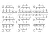 Plus & Min - Rechenpyramiden