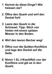 Wir machen Quitten-Quark