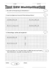 Test SRV Multiplikation
