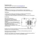 Protokolle Transformator