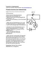 Protokolle Halbleiterphysik