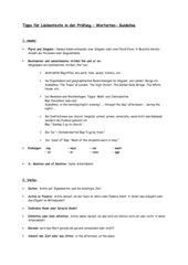 Hilfen für die Vocabulary and Grammar Übung in den Abschluss WETS