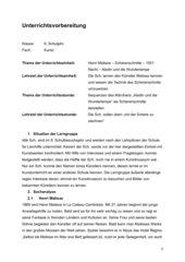 Matisse Scherenschnitte - Erstellen eines Bilderfries