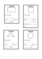 4teachers steckbriefe f r verschiedene formen rechteck quadrat kreis dreieck. Black Bedroom Furniture Sets. Home Design Ideas