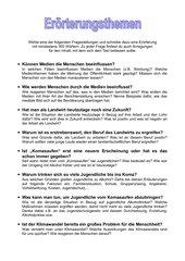 4teachers lehrproben unterrichtsentwrfe und unterrichtsmaterial fr lehrer und referendare - Dialektische Erorterung Beispiel Klasse 9