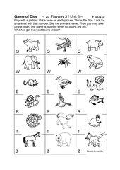 Animals - Würfelspiel