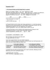 English Grammar G 2000/06 , Unit 7