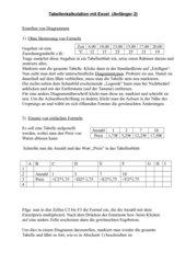 Tabellenkalkulation Excel für Anfänger 2