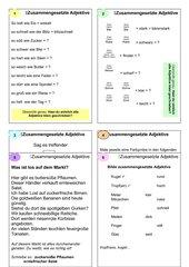 Zusammengesetzte Adjektive, GS Kl.4