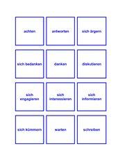 Schnapp - Verben - Präpositionen