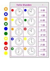 Logico-piccolo zum Ablesen von vollen Stunden