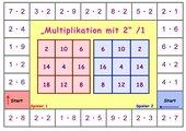 Bingospiele Multiplikation 1x1
