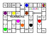 Boardgame Numbers and Colours