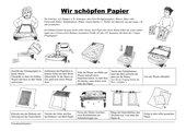 Papier schöpfen