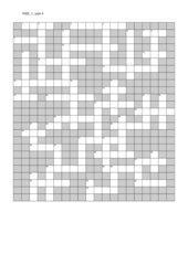 Kreuzworträtsel zu New Highlight 1, Unit 4