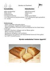 kermakakku - Sahnekuchen