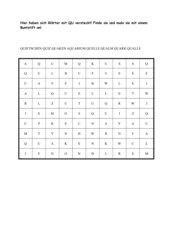 Suchsel zur Buchstabenverbindung qu