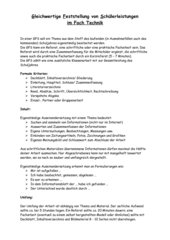 GFS-Vorgaben Technik RS - Ba-Wü