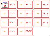 Dominos zur Subtraktion im ZR100