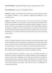 Der Igel/Sachanalyse
