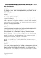 Tierschutzgesetz - ein Arbeitsblatt