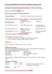 Partizipium Coniunctum - besser lernen mit WURBS u. TEKAMOKOKO