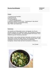Rucola-Kartoffelsalat