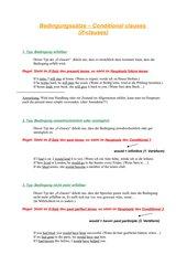 Merkblatt if-clauses