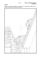 Skizze zum Ausmalen/Farbkontraste